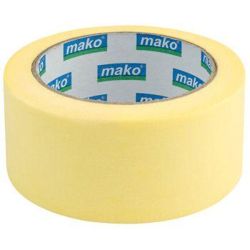 Скотч малярный 50 м/50 мм, желтый