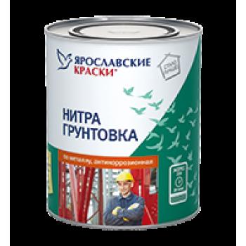 Нитрогрунтовка по металлу антикоррозионная серая, банка 1,7 кг
