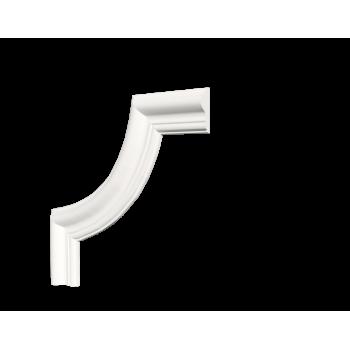 C1-DD301/Декоративный уголок гладкий (215*215*16мм)/4, шт