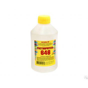 Растворитель 646 ТУ, 1 л Ясхим / упаковка - 20 шт.